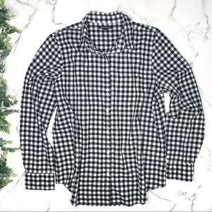 J. CREW Mercantile Gingham Button Down Shirt